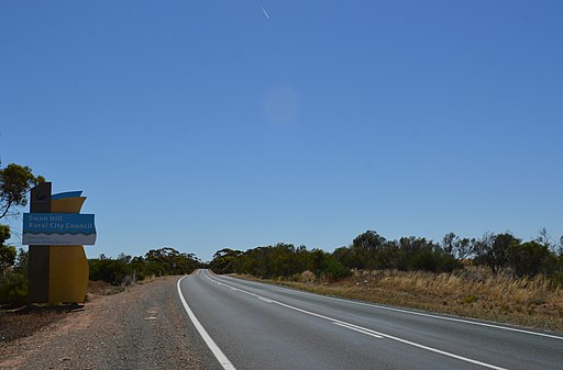 Rural City of Swan Hill Border Mallee Highway