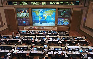 Mission control center - Image: Russian ISS Flight Control Room