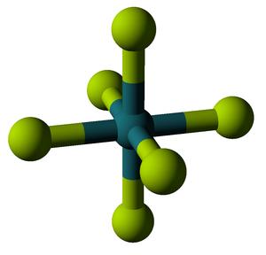 Ruthenium hexafluoride - Image: Ruthenium hexafluoride 3D balls