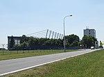 Ruzyně, K letišti, hangár F, zastávka U Hangáru.jpg