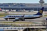 Ryanair, Boeing 737-8AS(WL), EI-ENJ - MAD (22047598286).jpg