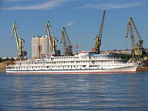 Ryleev on Khimki Reservoir 17-jun-2012 01.JPG