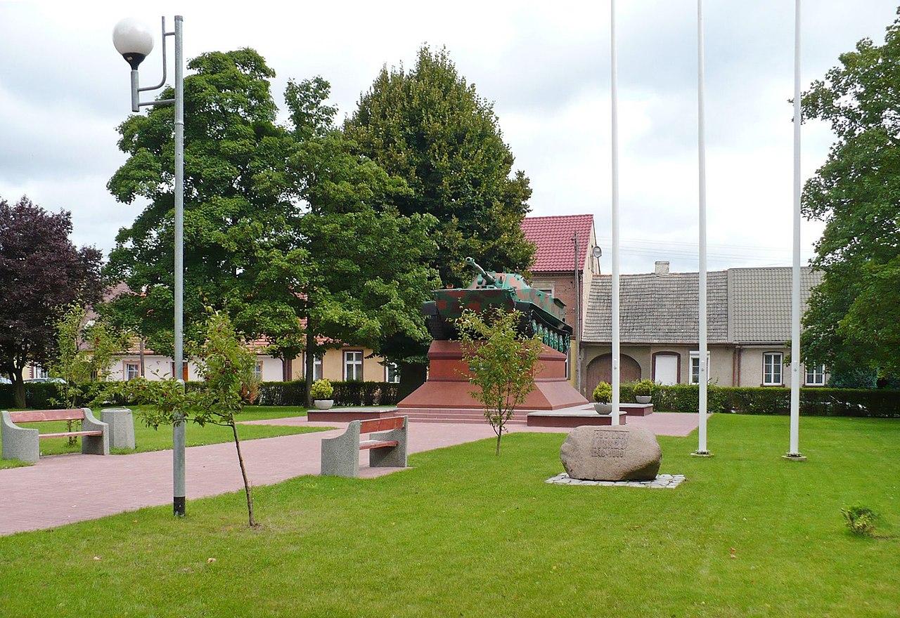 Pomnik Czołg w Lubrzy