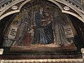 S.m. maggiore, tomba del card. consalvo rodriguez (m. 1299) di giovanni di cosma, con mosaico di ambito del cavallini 2.JPG
