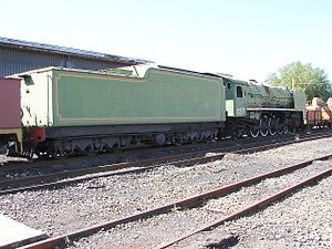 South African type EW tender - Image: SAR Class 15F 2928 (4 8 2)