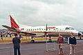 SE-IFS(N340CA) Saab SF.340A Saab Aircraft(Comair) FAB 09SEP84 (12476021973).jpg