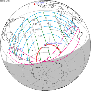 Solar eclipse of May 9, 2032