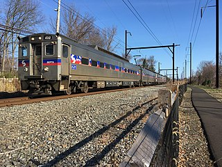 Warminster Line SEPTA Regional Rail service