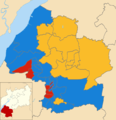 SGlos local election map 2011.png