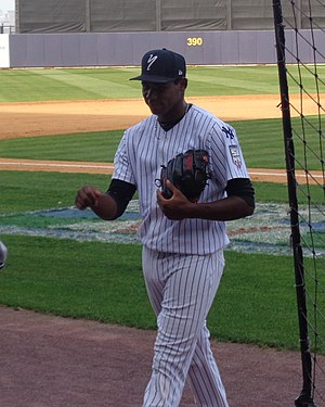 New York Yankees minor league players - Guzmán with the Staten Island Yankees