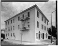 SOUTH SIDE AND EAST FRONT - Union Hotel, 401-05 First Street, Benicia, Solano County, CA HABS CAL,48-BENI,18-2.tif