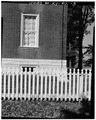 SOUTH VIEW OF FACADE WINDOW - Shaker East Family Dwelling House, U.S. Route 68, Shakertown, Mercer County, KY HABS KY,84-SHAKT,26-3.tif