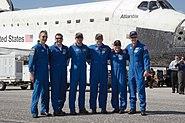 STS132 crew post landing1