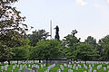 S across Sect 16 at Confederate Monument - Arlington National Cemetery - 2011.JPG