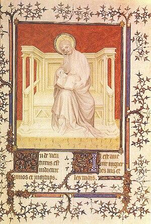 André Beauneveu - St Philip from Paris BNF MS.fr.13091, c.1390