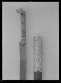 Sabel, yatagan, Algeriet, 1700-talets slut - Livrustkammaren - 27669.tif