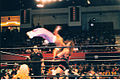Sabu Springboard Moonsault on Rhyno.jpg