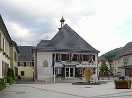 The town hall in Saint-Amarin