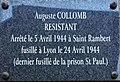 Saint-Rambert-en-Bugey - plaque Auguste Collomb.JPG