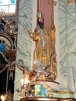 Saint Anne church in Lubartów - Interior - 02.jpg