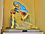 Saint Mary Catholic Church (Philothea, Ohio) - interior, Pieta statue.jpg