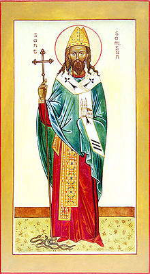Icon of Saint Samson of Dol]