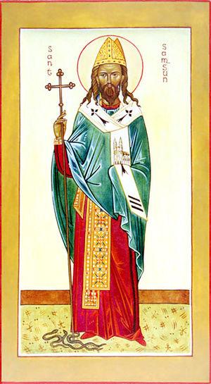Samson of Dol - Image: Saint Samson
