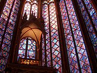 The Dazzling Display Of Medieval Glass At Sainte Chapelle Paris