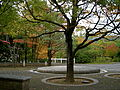 Saionji Memorial Hall Open Space, Kinugasa Campus (Ritsumeikan University, Kyoto, Japan).JPG