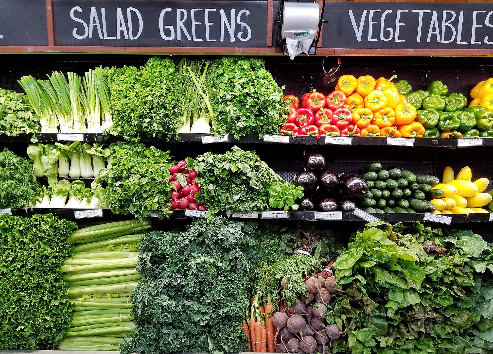 Salad greens and vegetables - Cambridge, MA.jpg