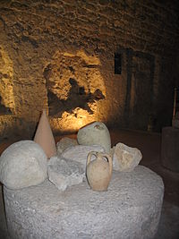 Castello di Arechi, interno