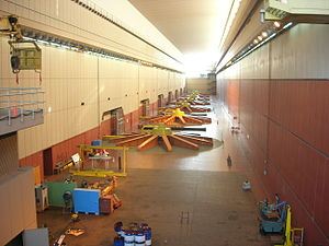 Salto Grande Dam - Image: Salto Grande turbine room