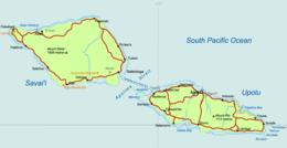 260px-Samoa_Country_map Map Of Samoa Surrounding Areas on guam area map, ghana area map, kurdistan area map, canada area map, korea area map, new zealand area map, egypt area map, st lucia area map, palestine area map, india area map, tahiti area map, haiti area map, uzbekistan area map, spain area map, singapore area map, vietnam area map, jordan area map, albion area map, tunisia area map, bahama area map,