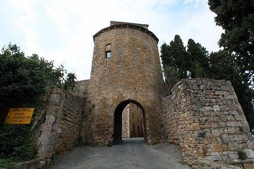 Porta dei Cappuccini (13th Century), seen from outside