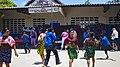 San Blas, Panama, Indiens Guna dansant.jpg