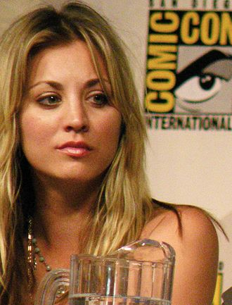 Kaley Cuoco - Cuoco at the San Diego Comic-Con in July 2009