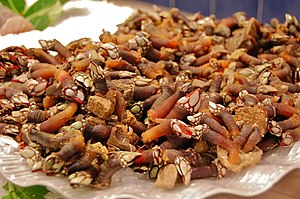 English: Gooseneck Barnacles, at a market of S...