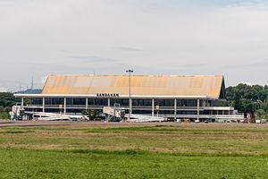 Sandakan Airport - Image: Sandakan Sabah Lapangan Terbang 1