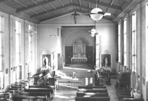 St. Theresa's Church, Denmark - The interior of St. Theresa's Church