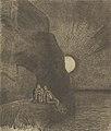 Sans cesse à mes côtés s'agite le Démon by Odilon Redon Van Gogh Museum p2755-007N2012.jpg