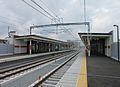 Sanyo Nishi-shimmachi Station Platform.JPG
