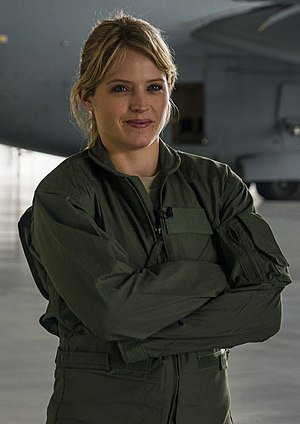 Sara Haines - Sara Haines, as Today correspondent at Charleston Air Force Base in 2013
