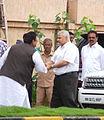 Satish Shah visits Rajesh Khanna's home Aashirwad 23.jpg