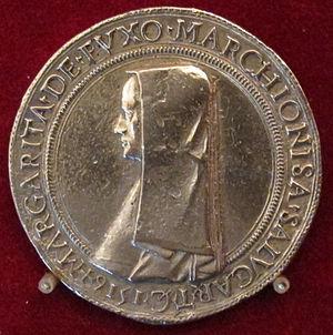 Margaret of Foix-Candale - Image: Savoia, margherita de foix, marchesa di saluzzo, 1516