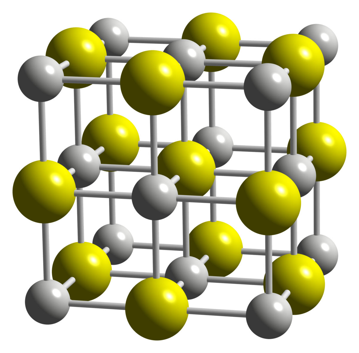 Preparation of an ionic compound from