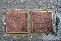Schackstraße 3, Celle, Stolperstein Dr. Walter Kauffmann, Jg. 1909, deportiert aus Amsterdam, tot in Bergen-Belsen, Dr. Eva Kauffmann, geb. von der Wall, Jg. 1908 ... tot in Auschwitz.jpg