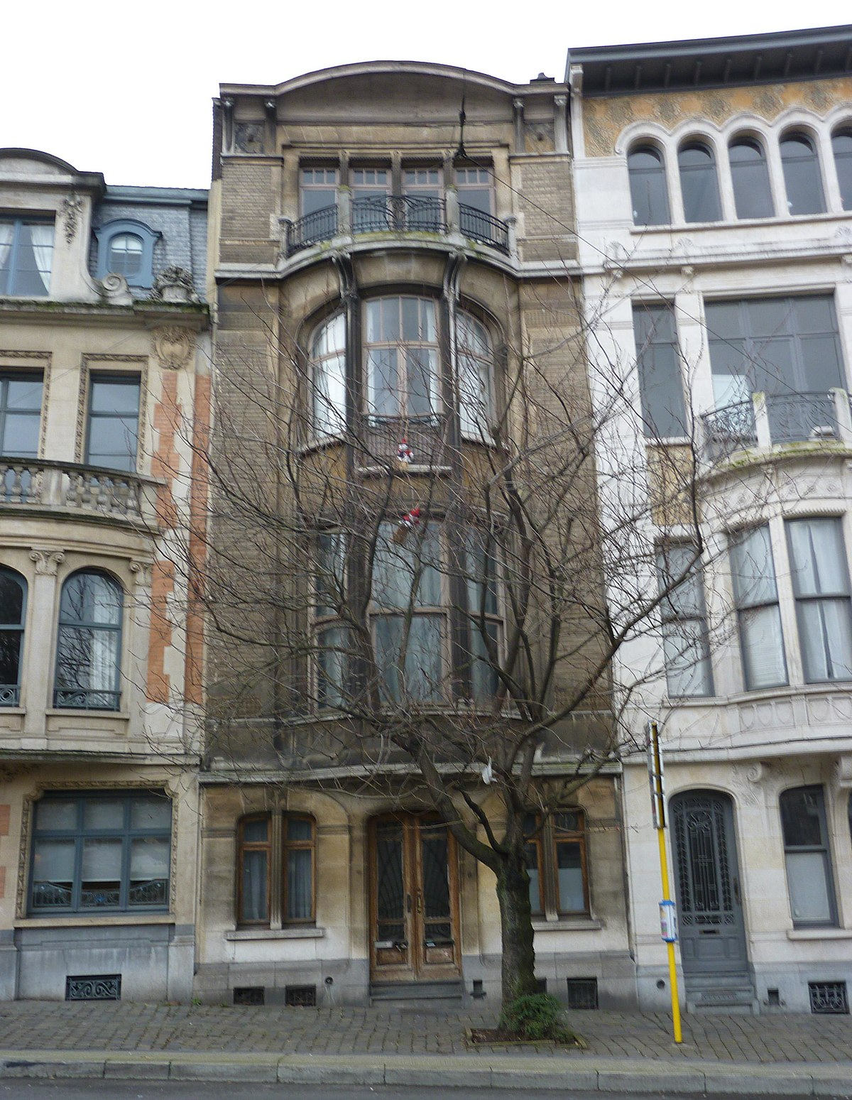 Maison charles fortin wikip dia for Adresse maison communale schaerbeek