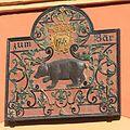 Schild am Haus. Markt. Quedlinburg. IMG 2183WI.jpg