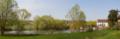 Schlitz Rimbach Fulda River Watermill 201904 pano cyl.png
