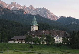 Schloss Elmau architectural structure